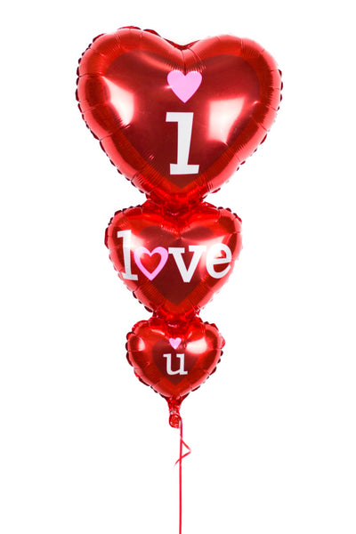 3 Tier Heart Shape Foil Balloon