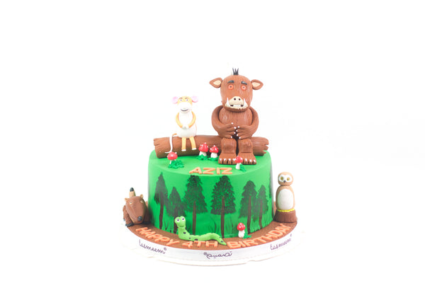 Forest Animal Birthday Cake - كيكة يوم ميلاد