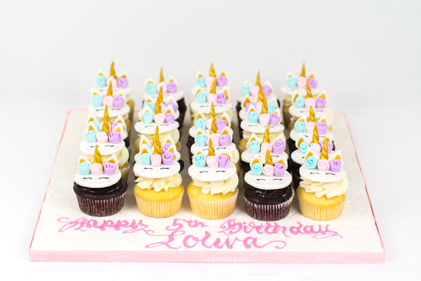 Unicorn Birthday Cupcakes II