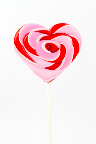 Heart w/Ribbon Lollipop