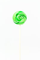 Mini Twirly Green Lollipop-(15g)