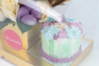 Eid Purple Cake