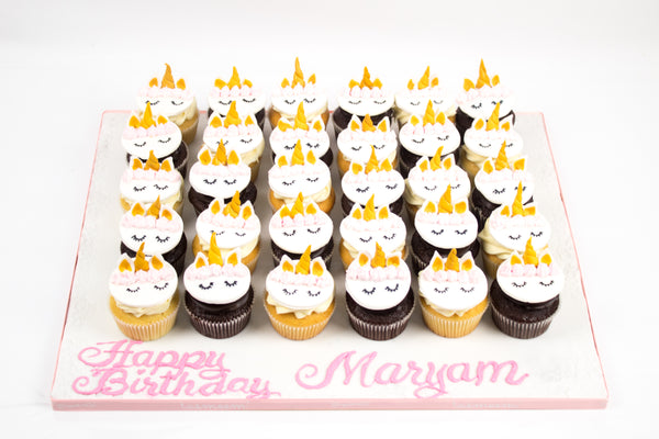 Unicorn Birthday Cupcakes V