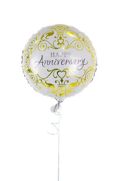 Anniversary Foil Balloons