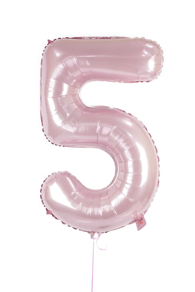 Number 5 Shaped Foil Balloon