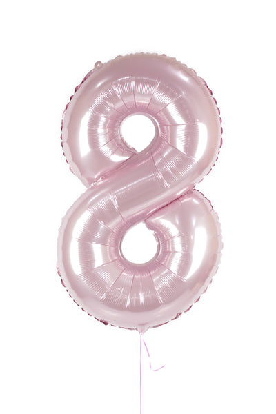 Number 8 Shaped Foil Balloon