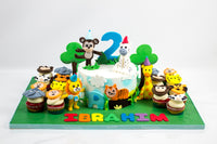 Party Animals Cake