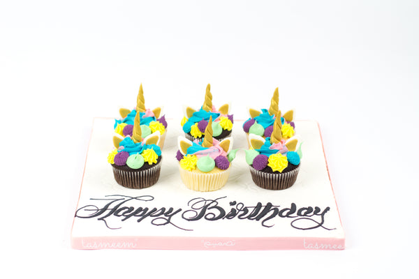 Unicorn Birthday Cupcakes I