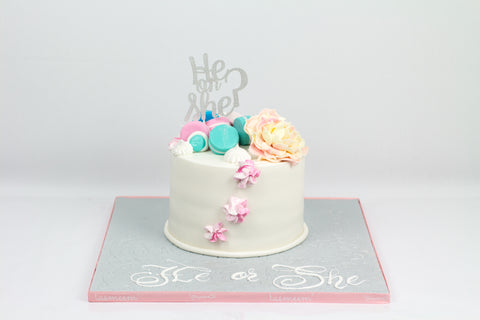 He or She? Gender Reveal Cake