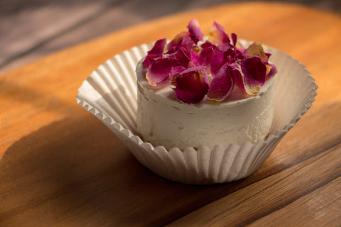 Rose Water Mini Cheesecake