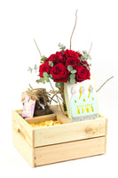 Wooden Birthday King Gift Box