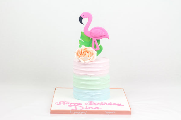 Flamingo Birthday Cake I - كيكة الفلامنغو