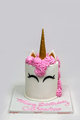 Unicorn Cake Pink Design