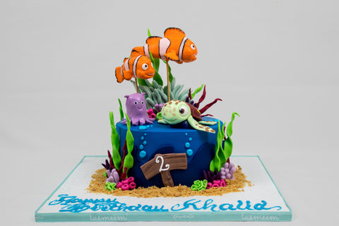 Character Under the Sea Cake