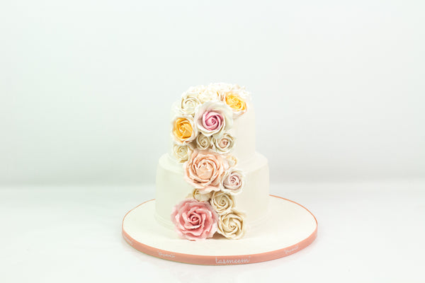 Simple Roses Cake