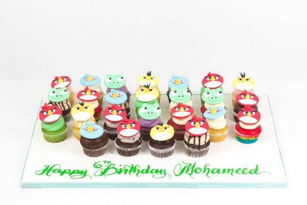 Character Birthday Cupcakes