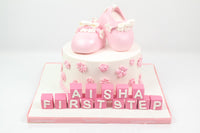 Pink Booties Cake