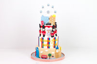 Queen of the City Cake - كيكة من طابقين