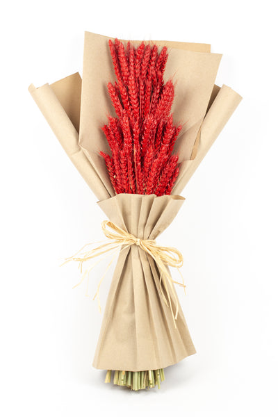 Red Wheat Bouquet