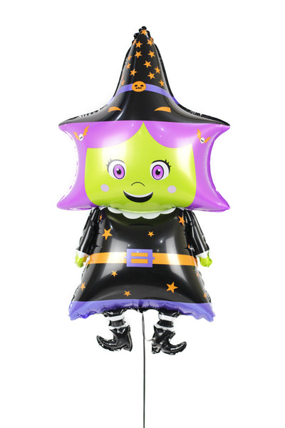 Halloween Witch Foil Balloon