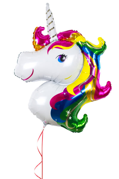 Unicorn Shaped Foil Balloon