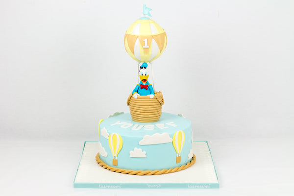 Air Balloon Birthday Cake - كيكة المنطاد