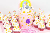 Unicorn Cow Birthday Cake - كيكة اليونيكورن