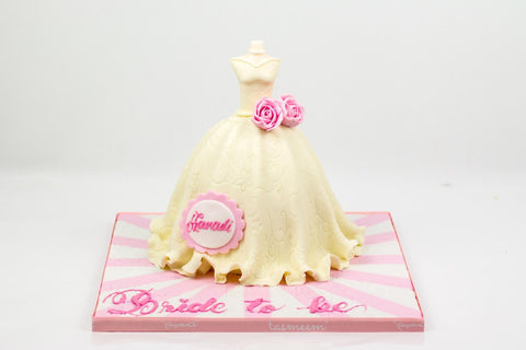 Bridal Gown Cake