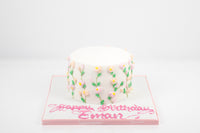 Mini Flower Vine Birthday Cake