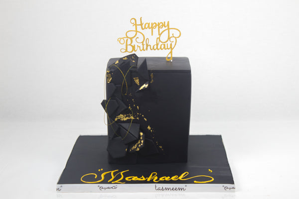 Black Box Birthday Cake