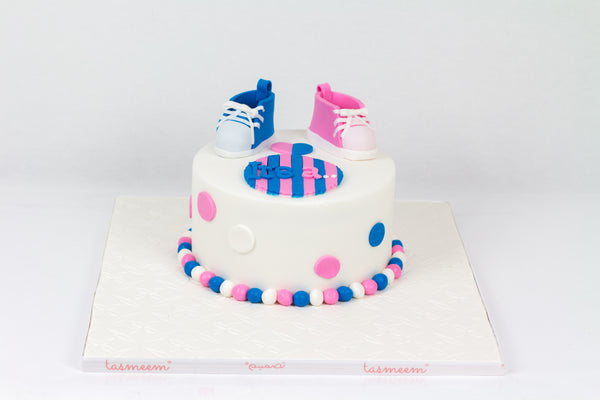It's a,.. Baby Booties Cake