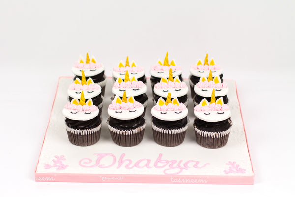 Unicorn Birthday Cupcakes III