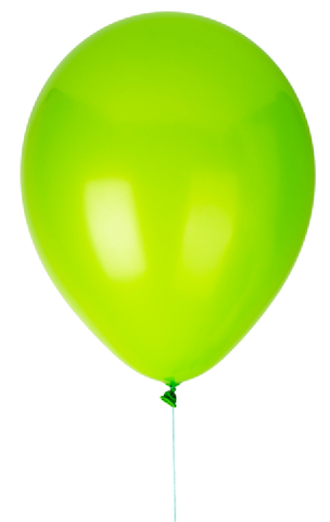 "12"" Light Green Latex Balloon"