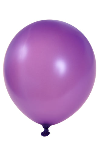 "12"" Purple Latex Balloon"