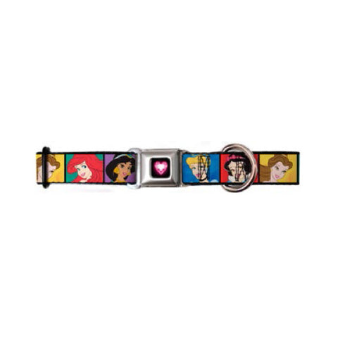 Disney Princess Blocks Dog Collar