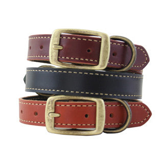 Lake Country Stitched Dog Collar
