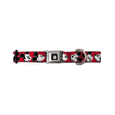 Mickey Mouse Expressions Dog Collar