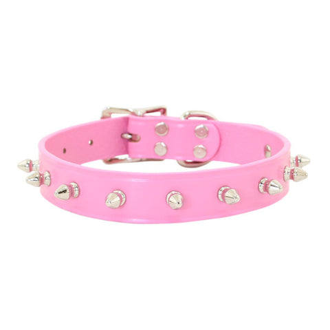 Spiked Dog Collar 1 Row