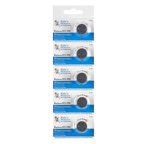 FF-188 Petsafe Compatible Battery 5 Pack