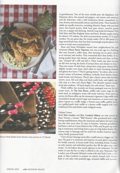 Edible Hudson Valley & Catskills Magazine