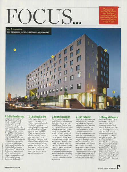 Multifamily Executive Magazine