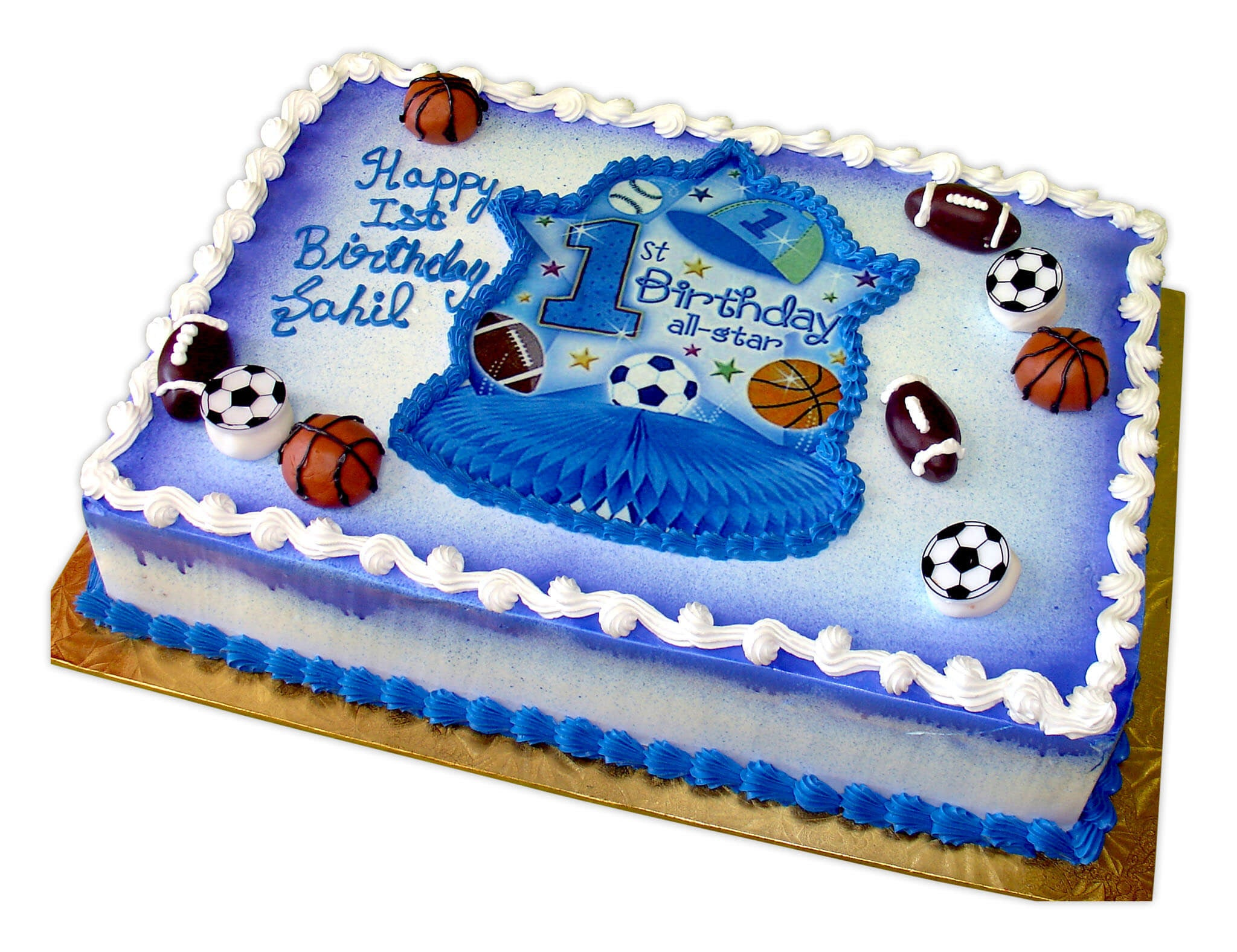 Swell Sahil All Star First Birthday Rashmis Bakery Funny Birthday Cards Online Bapapcheapnameinfo
