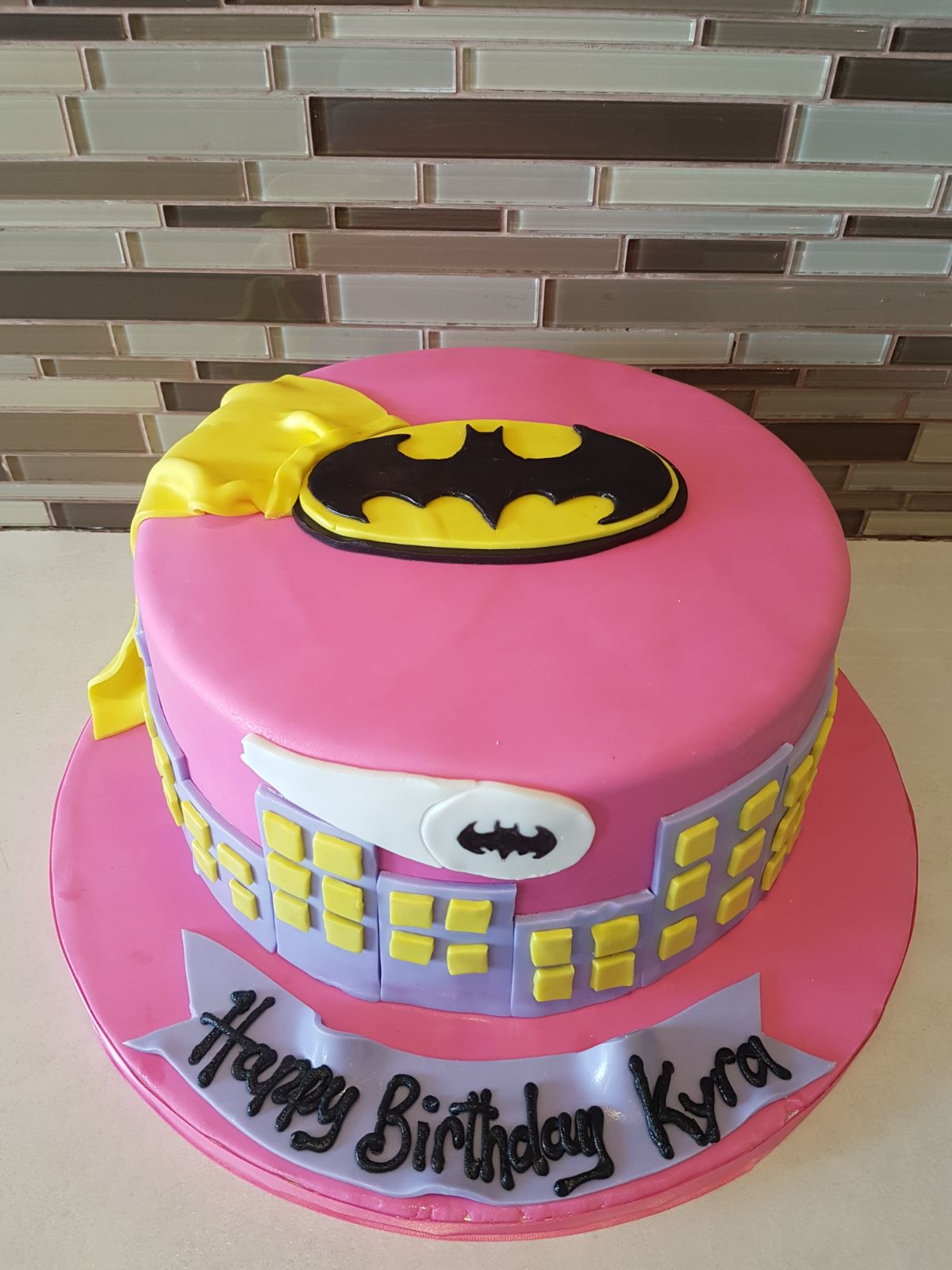 Astonishing Supergirl Fondant Cake Rashmis Bakery Funny Birthday Cards Online Elaedamsfinfo