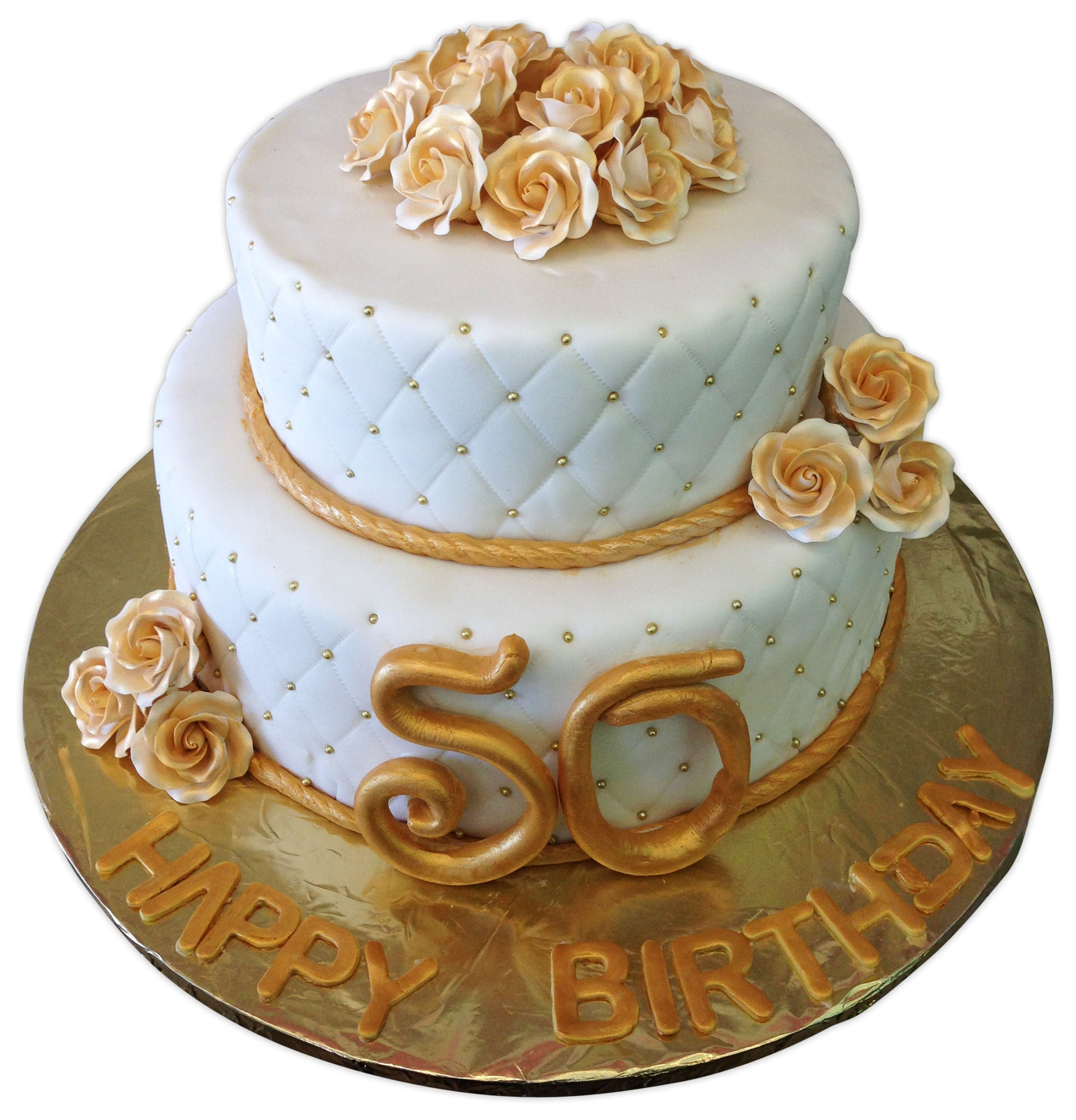 Wondrous Suzy 50Th Birthday Cake Rashmis Bakery Funny Birthday Cards Online Aeocydamsfinfo