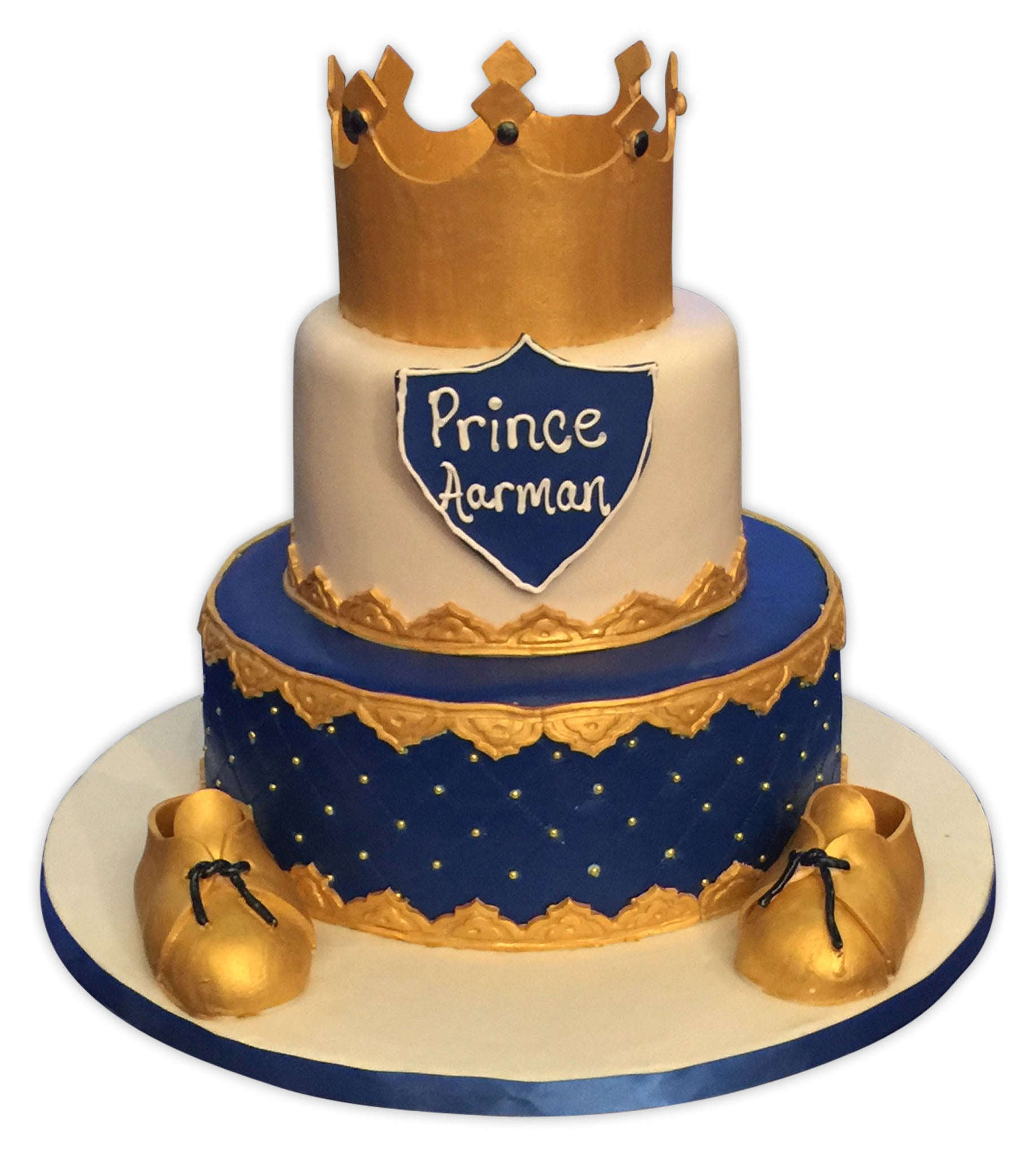 Prince Aarman Crown cake Rashmis Bakery