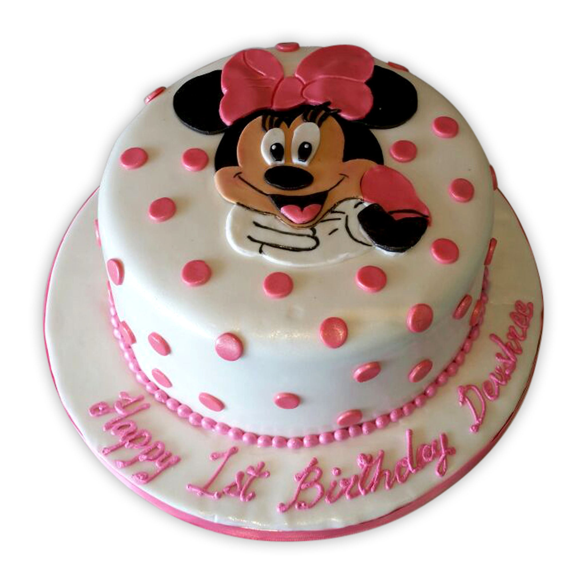 Devshree Minnie Birthday Cake - Rashmi's Bakery