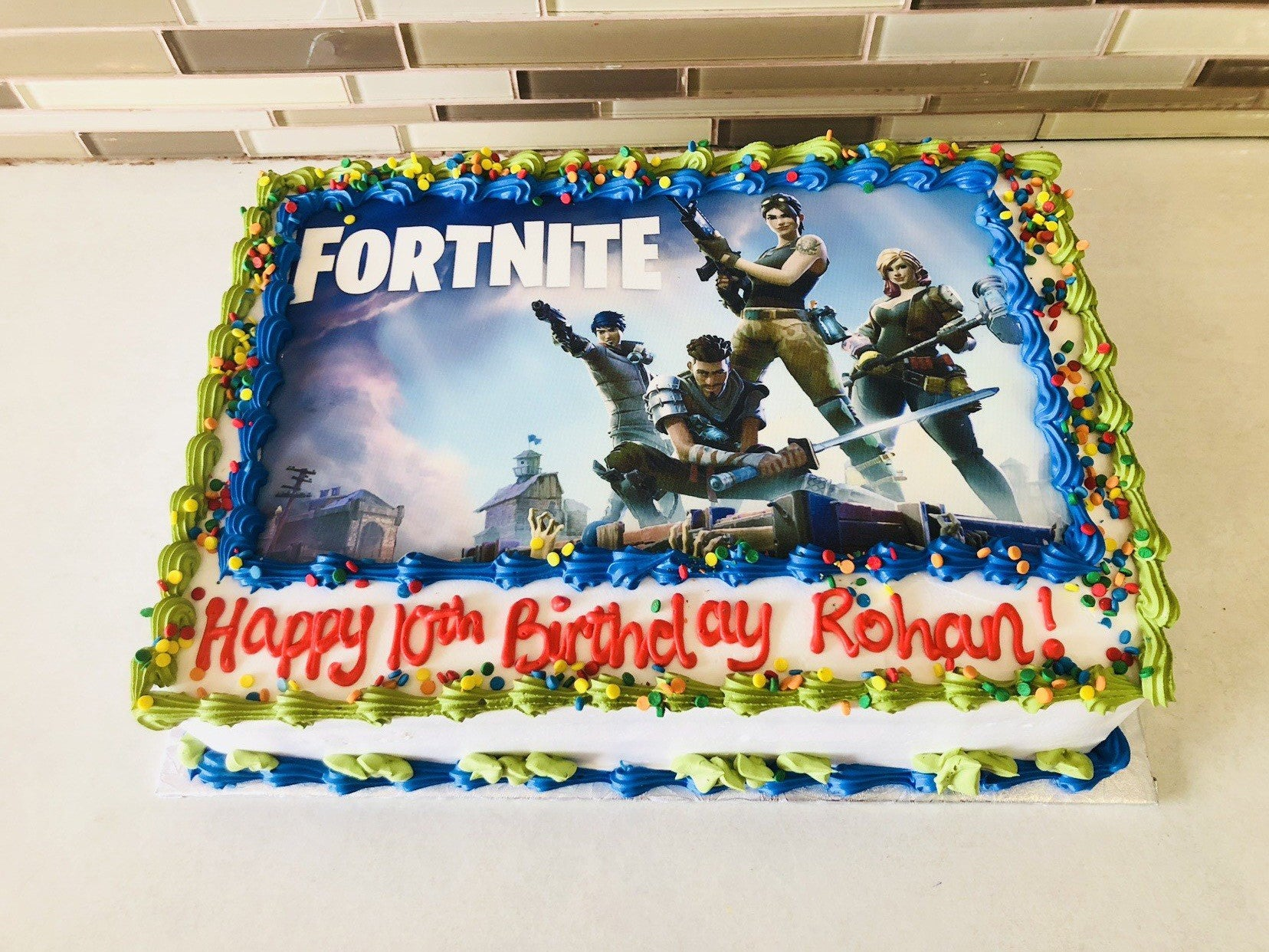 Fortnite Photo Cake Rashmi S Bakery