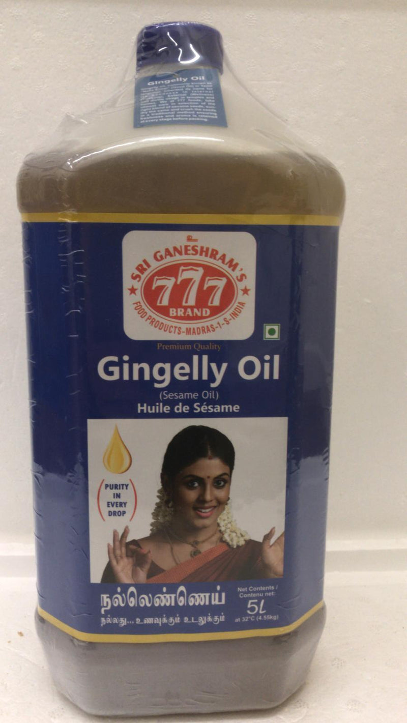 777 Gingelly Oil 5LTR