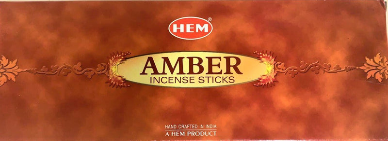 Hem Amber Incense Sticks 120 Count