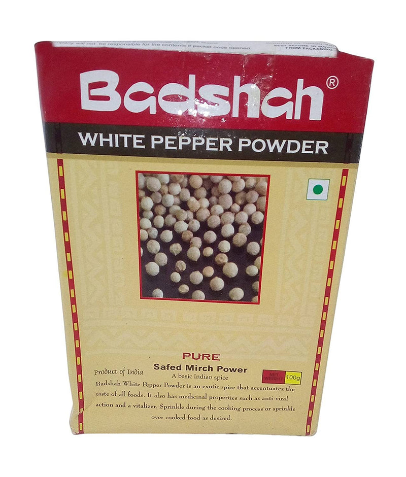 Badshah White Pepper Powder 100GM